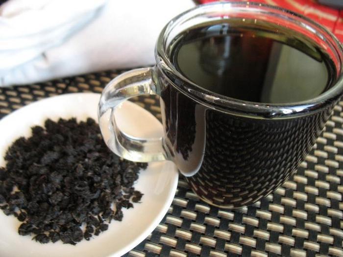 Из листьев груши можно получить ферментированный чай