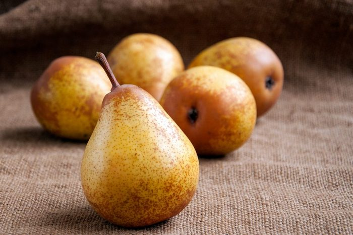 Плоды у груши Дюймовочка небольшие – около 80-90 г
