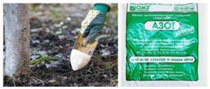 В состав удобрения для груши в обязательном порядке должен входить азот