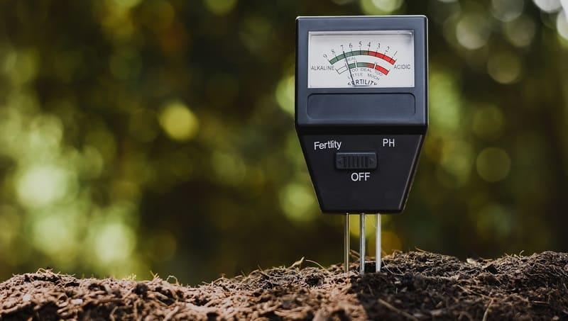Для определения уровня кислотности используется pH-метр